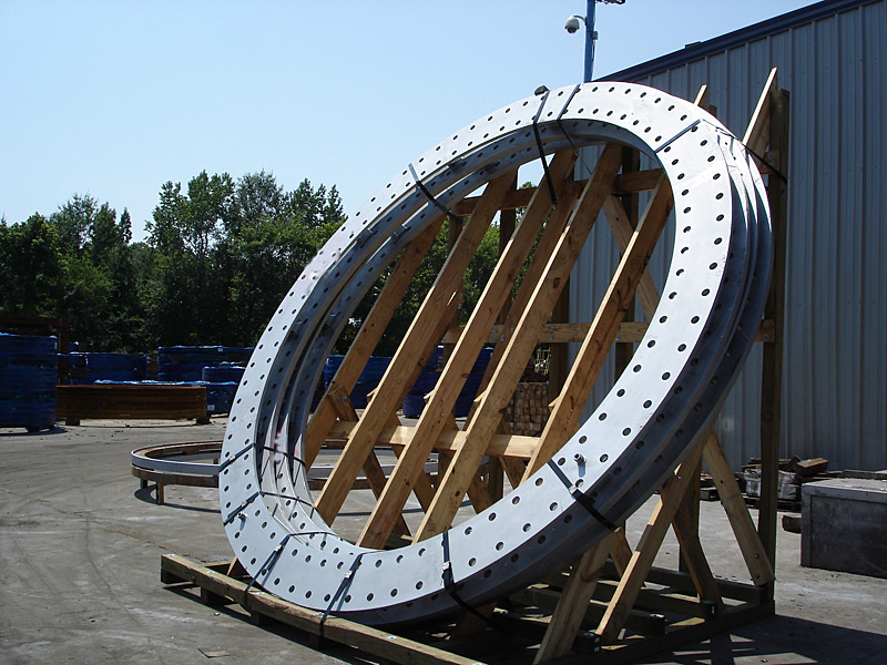 Wind Tower Base Flanges