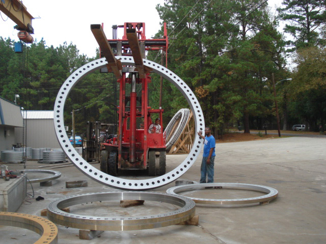 Waterworks Flange for Lake Fork Project