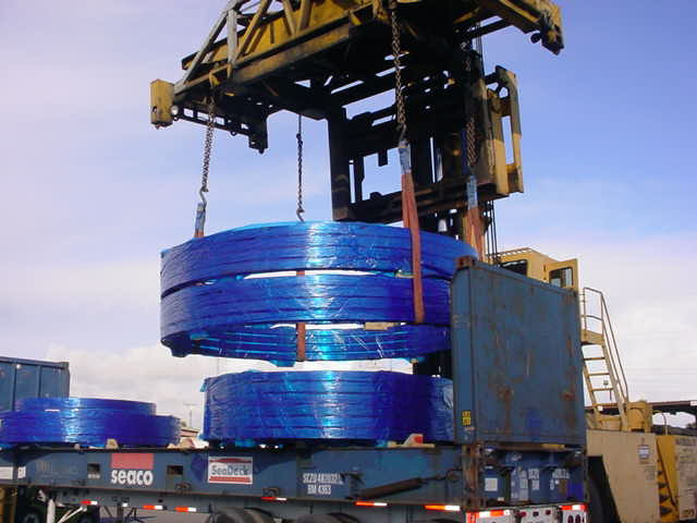 Special Trained Port Handlers for Large Diameter Parts
