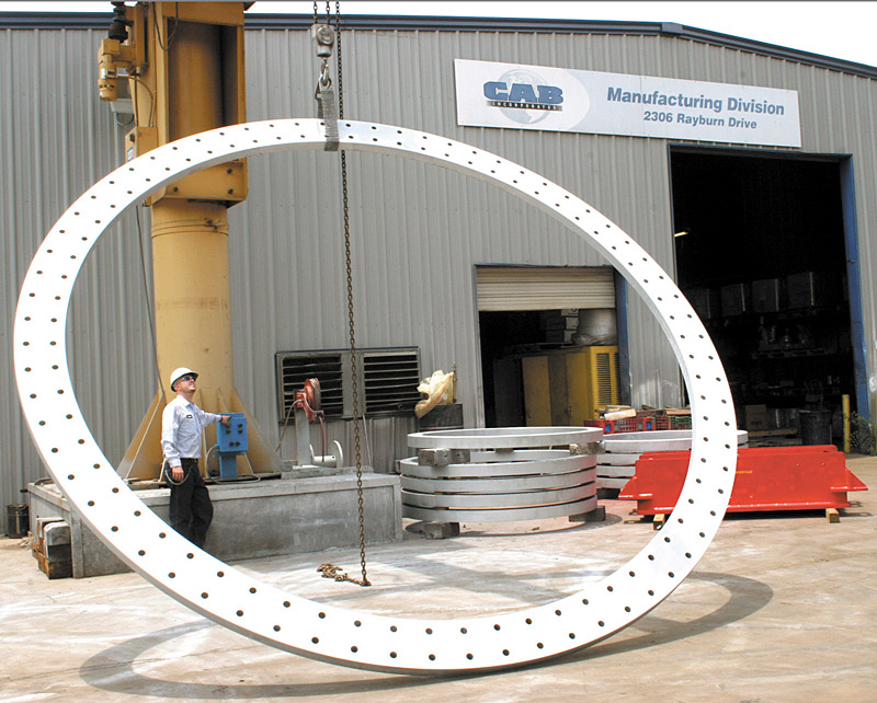 Wind Tower Base Flange 18 Feet Diameter