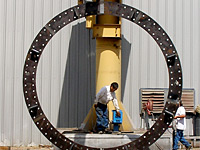 Wind Tower Embed Ring Manufactured in Nacogdoches, Texas