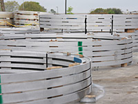 Wind Tower Flange Inventory-Nacogdoches, Texas