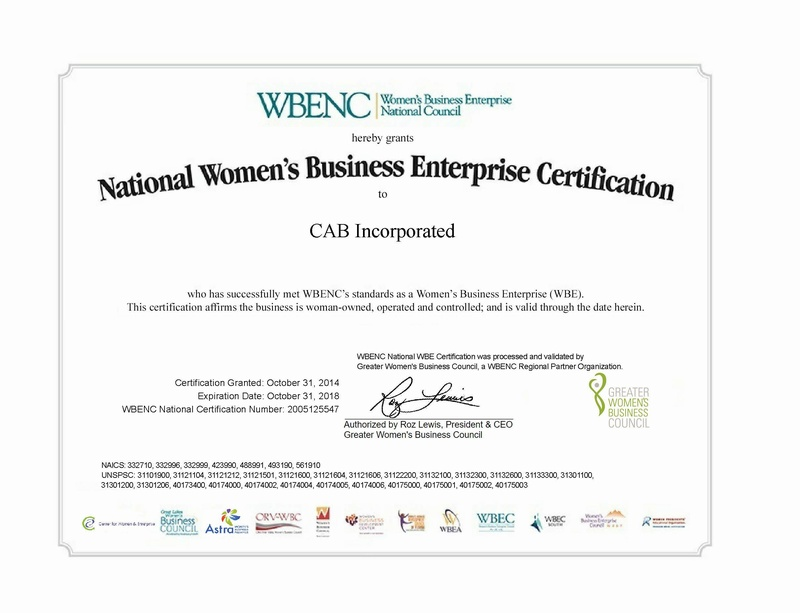 Women's Business Enterprise Certification