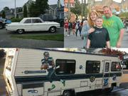 Old cars, family, and Seahawk Football